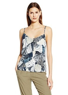 French Connection Women's Lala Palm Drape Tank Top