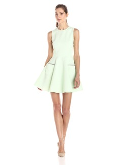 French Connection Women's Lickety Split Fit and Flare Dress