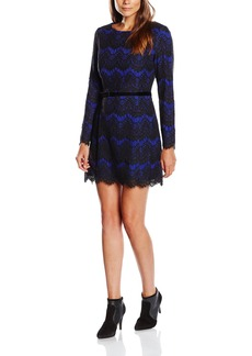 French Connection Women's Linea Lace Long Sleeve Dress