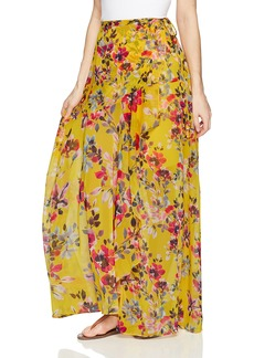 French Connection Women's Linosa Crinkle Maxi Floral Skirt