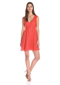French Connection Women's Lizzie Ruth V-Neck Dress