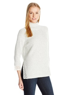 French Connection Women's Lola Lace Knits Sweater  S