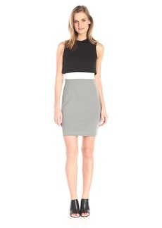 French Connection Women's Lula Stretch High Neck Dress
