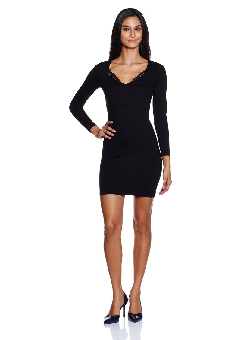 French Connection Women's Lula Stretch Long Sleeve Dress