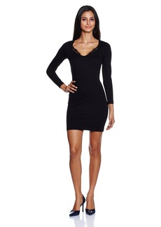 French Connection Women's Lula Stretch Longsleeve Dress