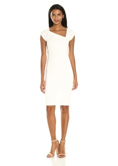 French Connection Women's Lula Stretch Slash Neck Dress