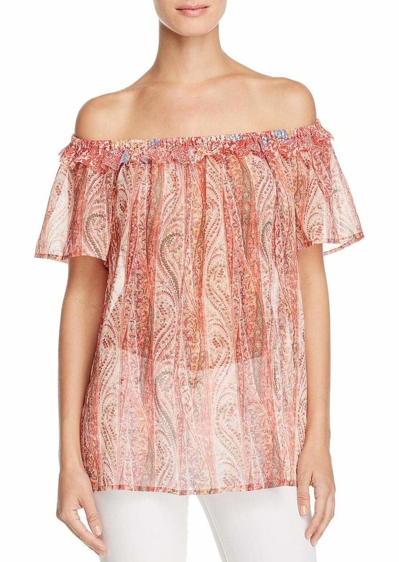 French Connection Women's Malika Sheer Top  M