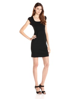 French Connection Women's Manhattan Capsleeve Midi Dress
