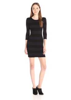 French Connection Women's Manhattan Winter Stripe Dress
