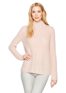 French Connection Women's Mathilde Mockneck Knits Long Sleeve Sweater  L