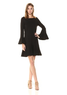 French Connection Women's MATUKU LULA Ponte Long Sleeve Dress
