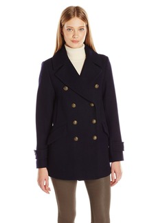 French Connection Women's Military Peacoat