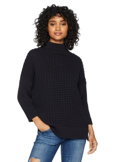 French Connection Women's Millie Mozart Solid Knits Cotton Sweaters  L