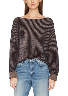 French Connection Women's Millie Mozart Solid Knits Cotton Sweaters  S