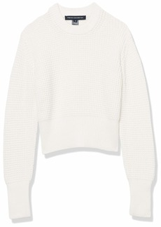 French Connection Women's Millie Mozart Solid Knits Sweaters  L