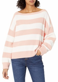 French Connection Women's Millie Mozart Solid Knits Sweaters True Blossom/Summer White