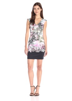 French Connection Women's Mineral Pool Border Cotton Dress