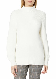 French Connection Women's Mock Neck Sweater  L