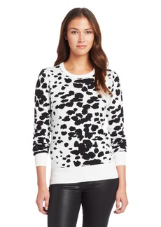 French Connection Women's Ombre Bark Sweater