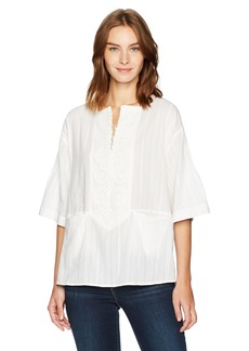 French Connection Women's Oni Cotton Top  L