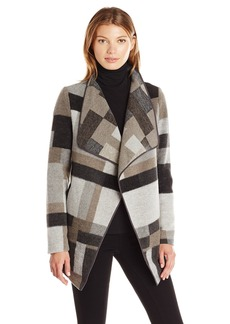 French Connection Women's Oversized Collar Jacket  L