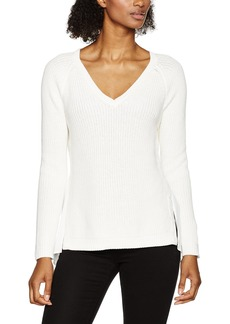 French Connection Women's Mozart Hybrid Knits Sweater  M