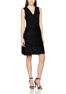 French Connection Women's Pleat Lace Jersey Dress