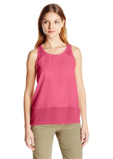 French Connection Women's Polly Plains Raw Edge Tank Top