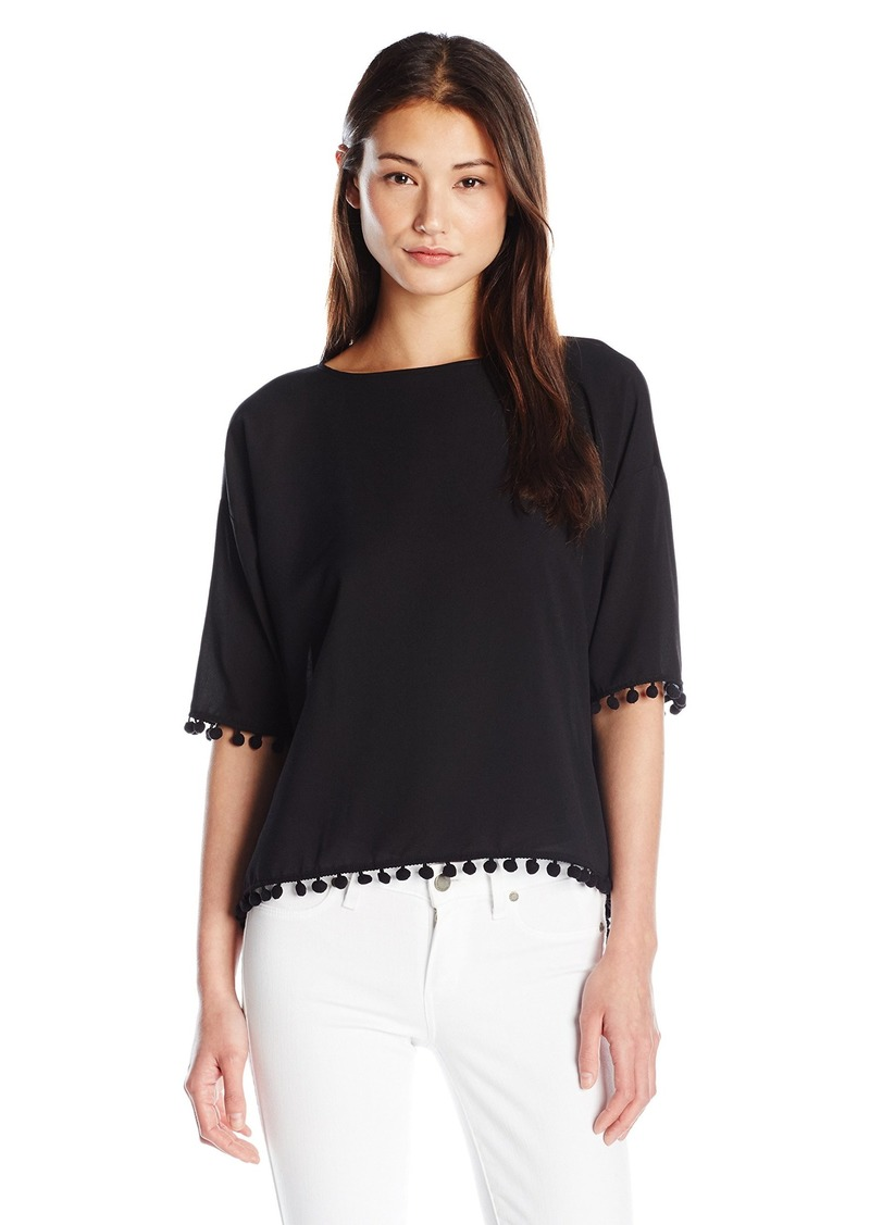 French Connection Women's Pom Polly Top