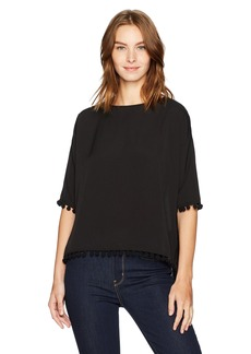 French Connection Women's Pom Polly Top  L