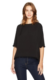 French Connection Women's Pom Polly Top  XS