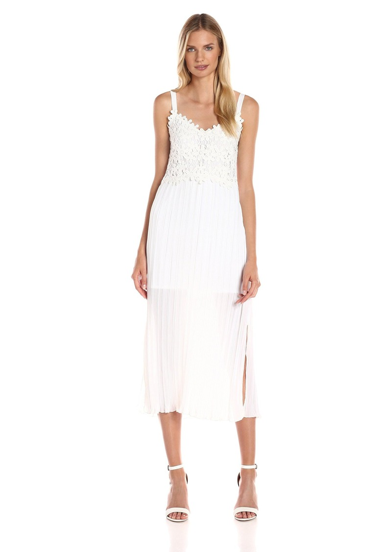 French Connection Women's Posy Lace Strappy Maxi Dress