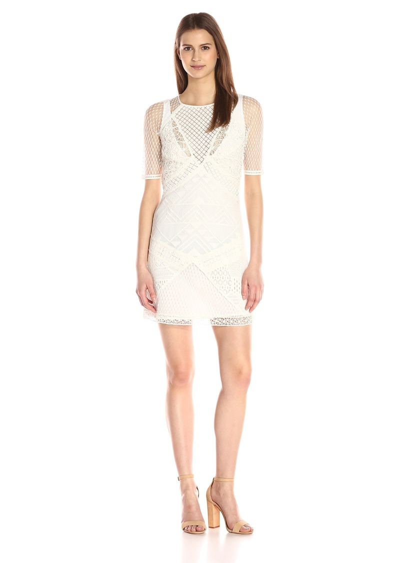 French Connection Women's Rene Lace Dress