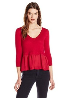 French Connection Women's Ripple Knits Sweater