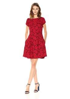 French Connection Women's Rosalind Drape Dress