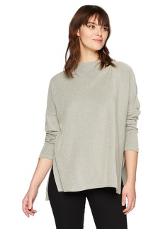 French Connection Women's Rosario Rib Jersey Long Sleeve Top  XS