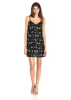 French Connection Women's Sequin Leopard Slip Dress