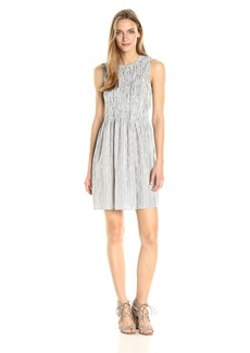 French Connection Women's Serge Stripe Dress