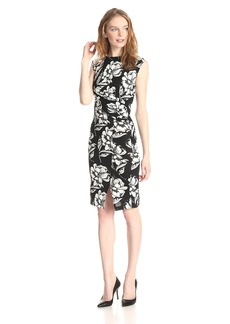 French Connection Women's Shadow Bloom Sheath Dress