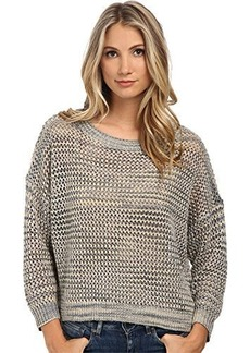 French Connection Women's Shimmer Mesh Knits Sweater  Small