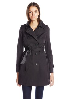 French Connection Women's Short Belted Trench