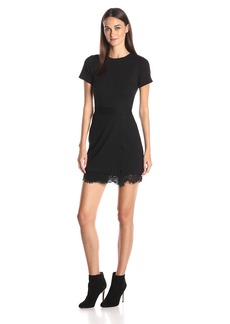 French Connection Women's Short Sleeve Lula Stretch