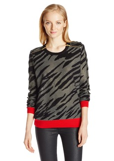French Connection Women's Siberian Tiger Sweater