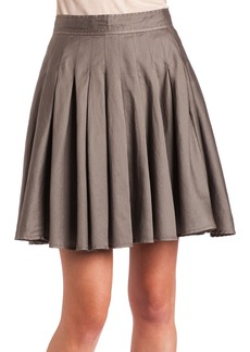 French Connection Women's Sierra Sateen Skirt