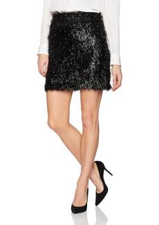 French Connection Women's Simone Tassel Jersey Skirt  M