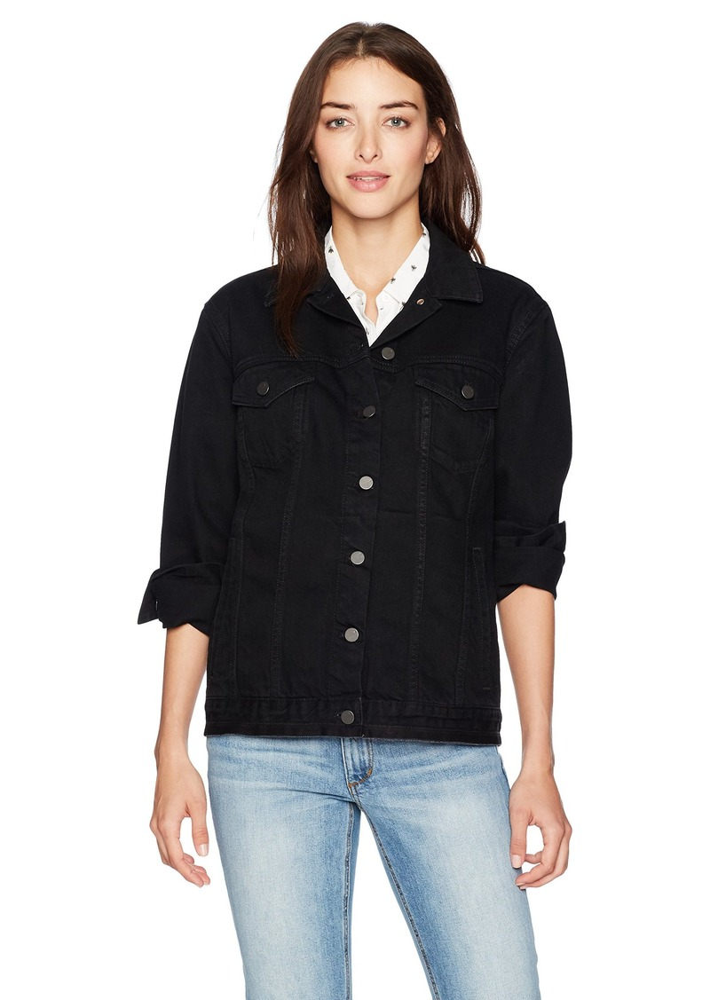 French Connection Women's Slouchy Western Denim Jacket  M