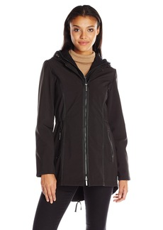 French Connection Women's Soft Shell with Detach Sweatshirt  S