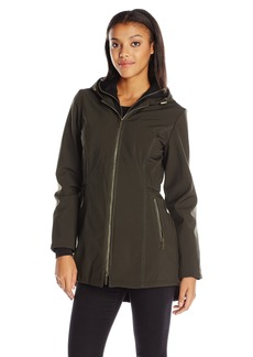 French Connection Women's Soft Shell with Detach Sweatshirt  XL