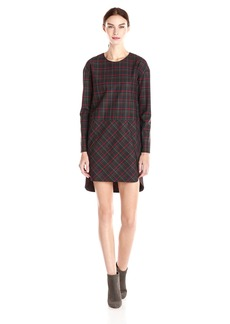 French Connection Women's Soho Check Long Sleeve Plaid Dress