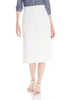 French Connection Women's Space Lace Skirt